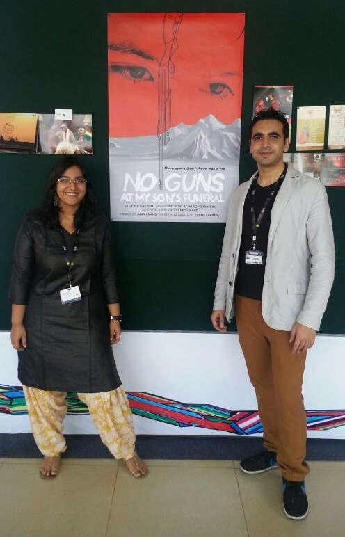 no guns at my sons funeral Paro anand runs a programme - literature in action - in delhi and various  places outside, including kashmir she is a performance storyteller.